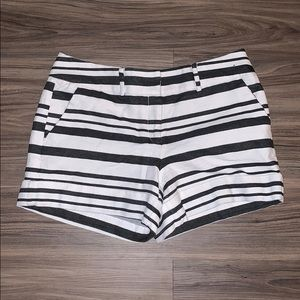 Black & White Shorts